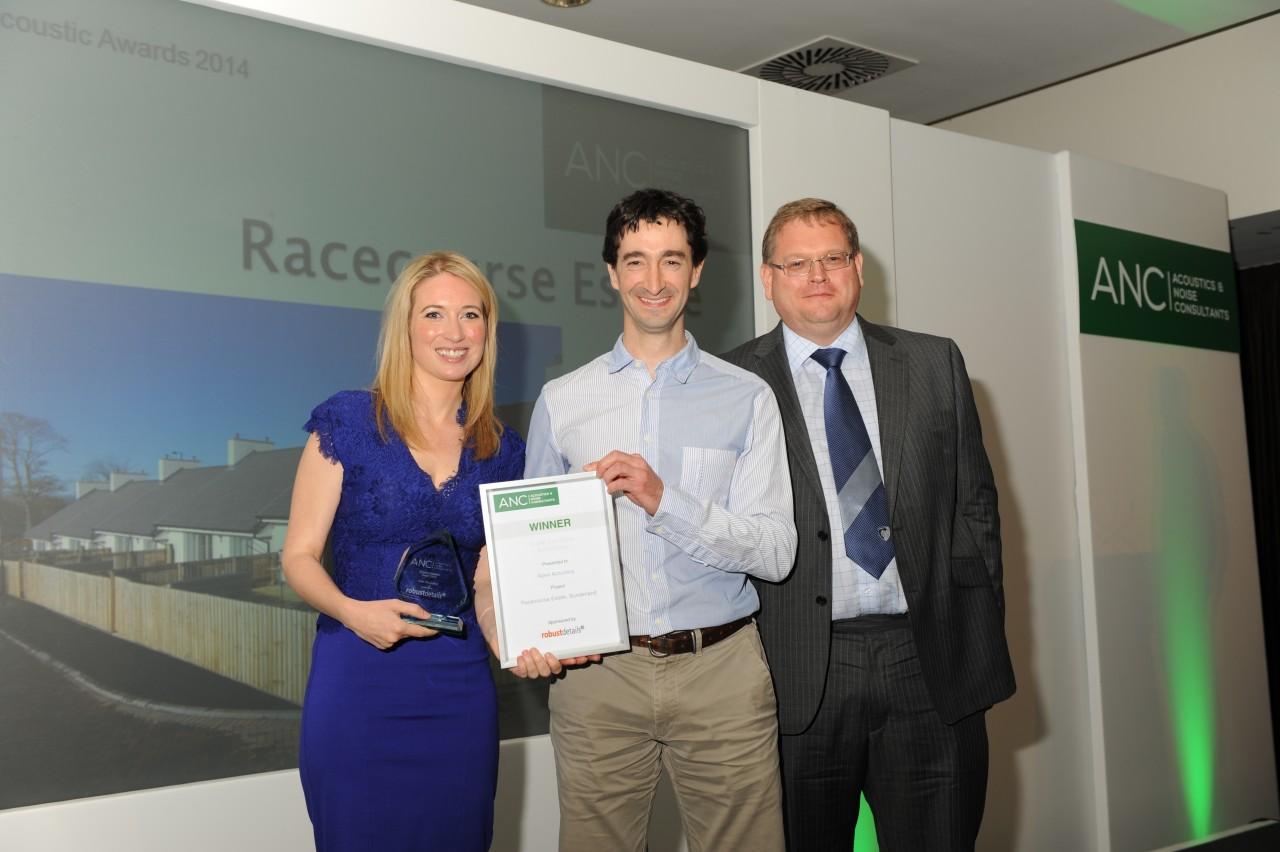 Apex win ANC sound insulation award 2014