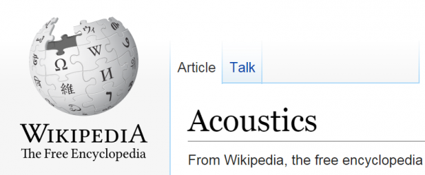 Wiki acoustics